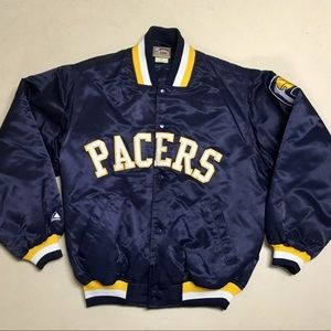 Indiana Pacers - Retro Men's Bomber Jacket 🏀